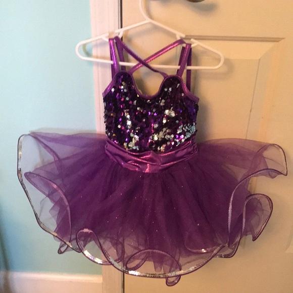 Weissman purple jazz costume